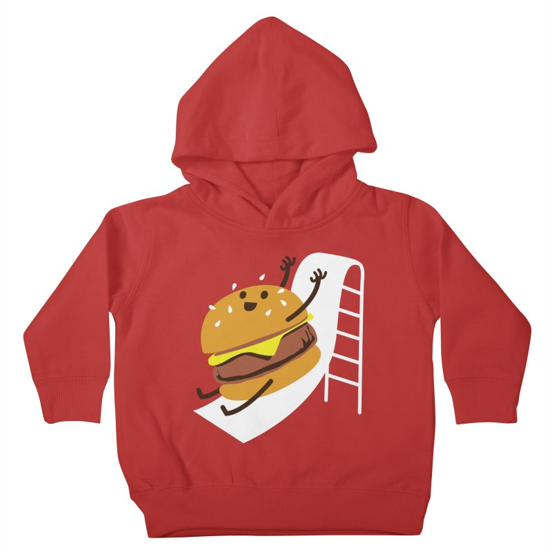 Slider Burger Kids Toddler Pullover Hoody by Apparel by Marco aka ivejustquitsmoking