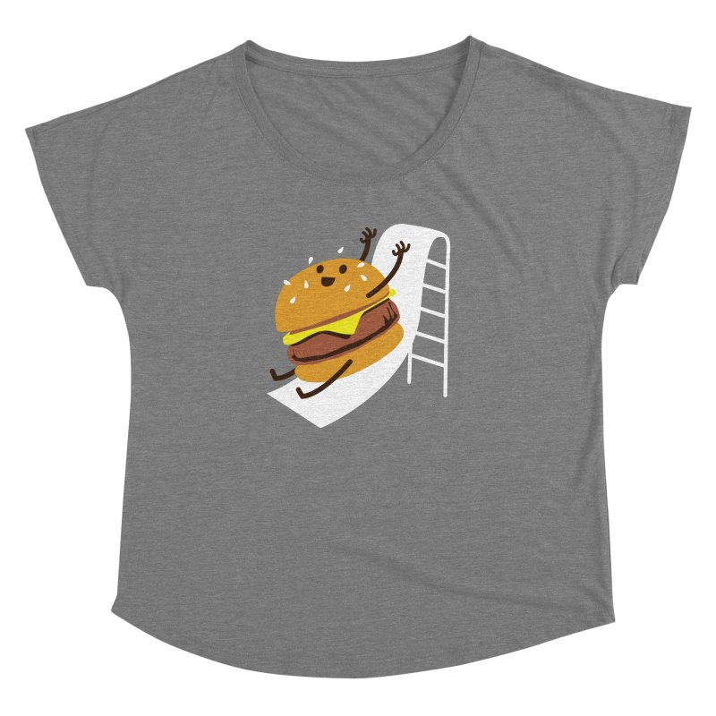 Slider Burger Women's Dolman by Apparel by Marco aka ivejustquitsmoking