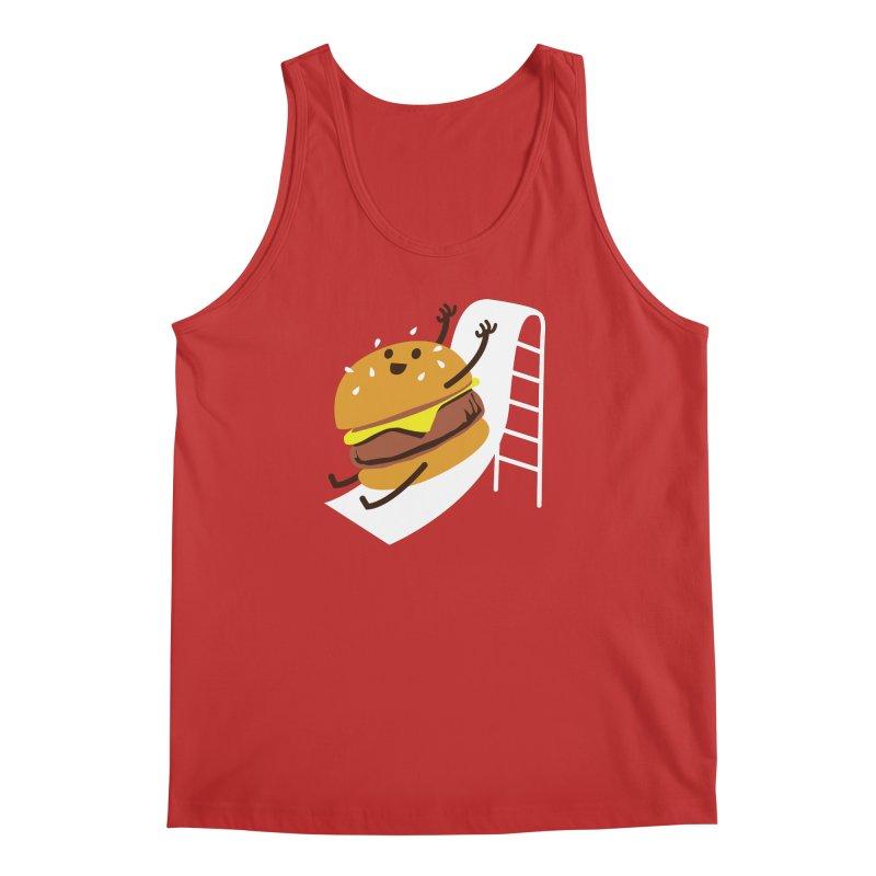 Slider Burger Men's Regular Tank by Apparel by Marco aka ivejustquitsmoking