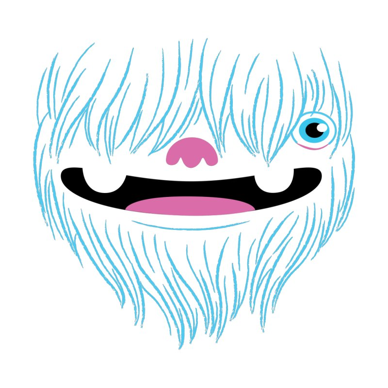 Happy Yeti None  by Apparel by Marco aka ivejustquitsmoking