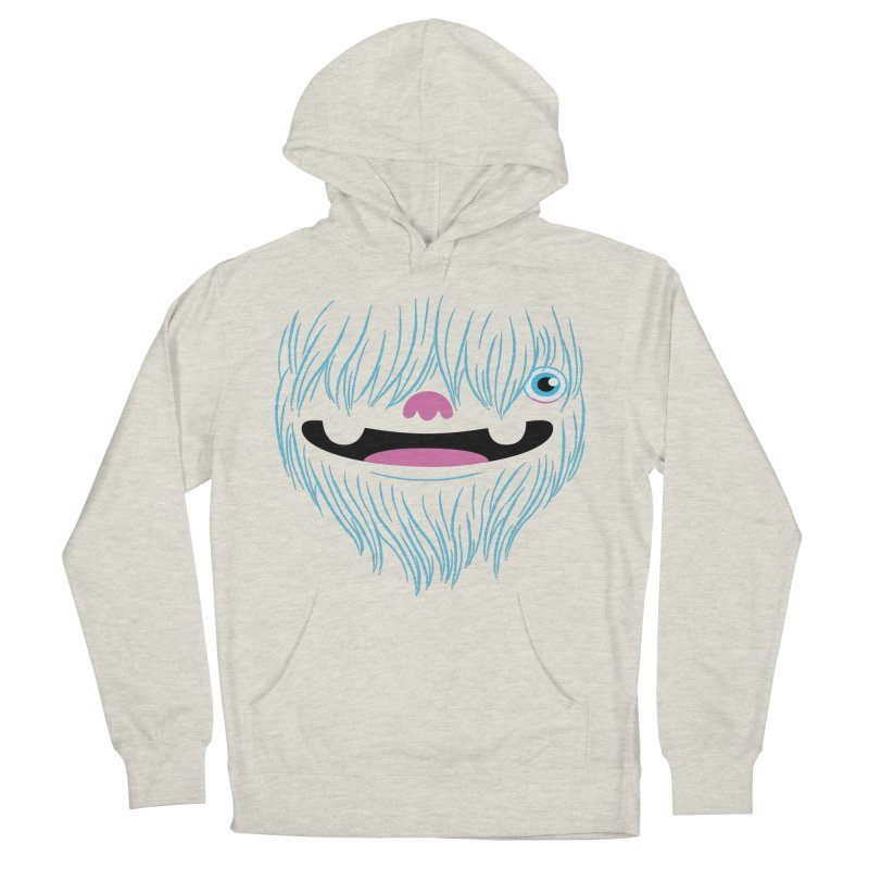 Happy Yeti Men's Pullover Hoody by Apparel by Marco aka ivejustquitsmoking