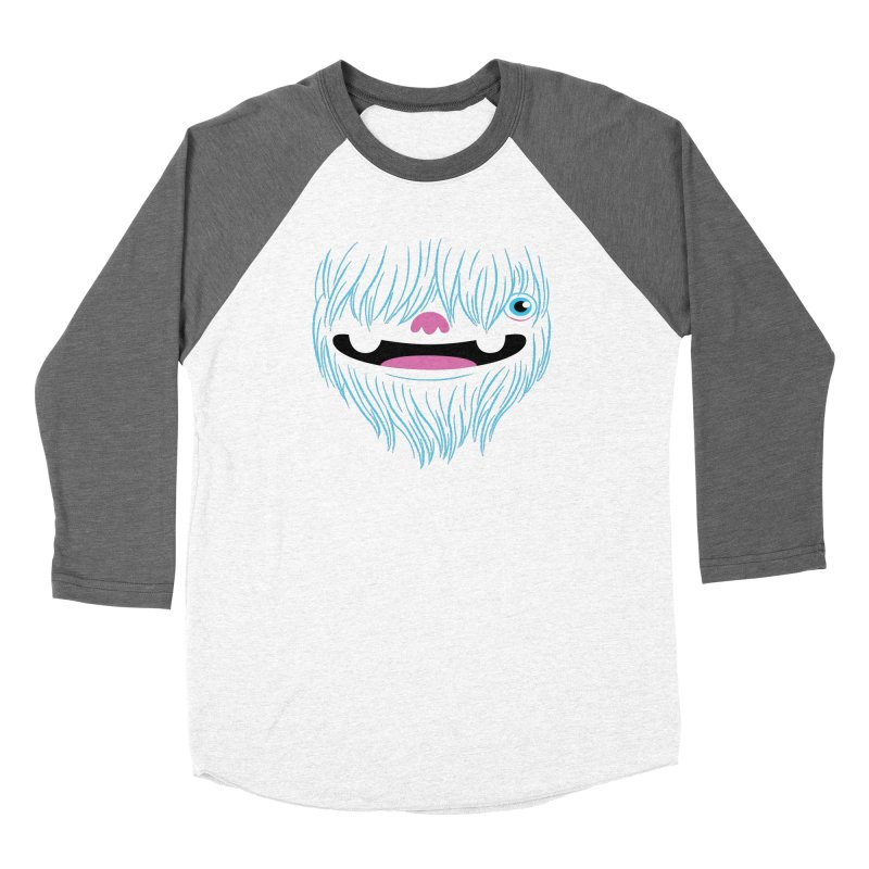 Happy Yeti Women's Longsleeve T-Shirt by Apparel by Marco aka ivejustquitsmoking