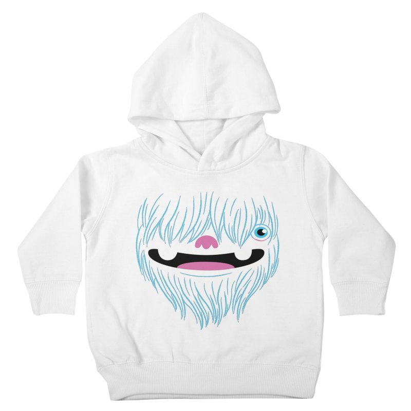Happy Yeti Kids Toddler Pullover Hoody by Apparel by Marco aka ivejustquitsmoking