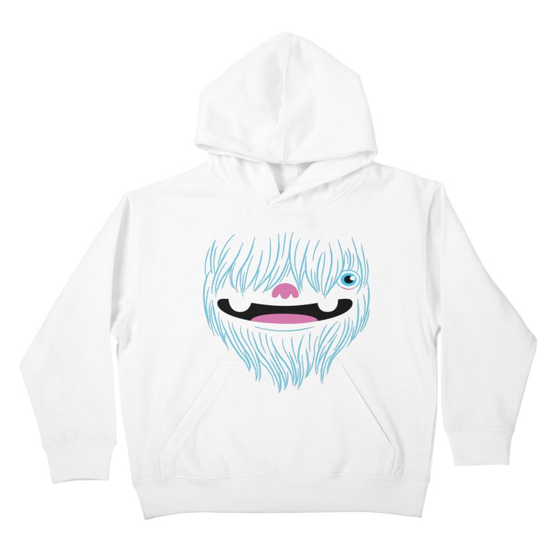 Happy Yeti Kids Pullover Hoody by Apparel by Marco aka ivejustquitsmoking