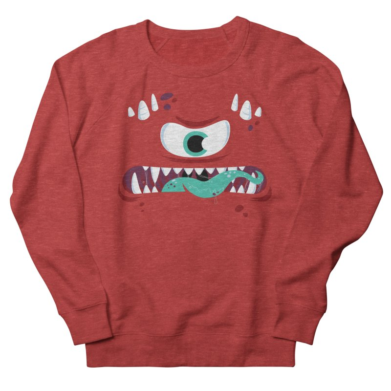 Mad Monster Women's French Terry Sweatshirt by Apparel by Marco aka ivejustquitsmoking