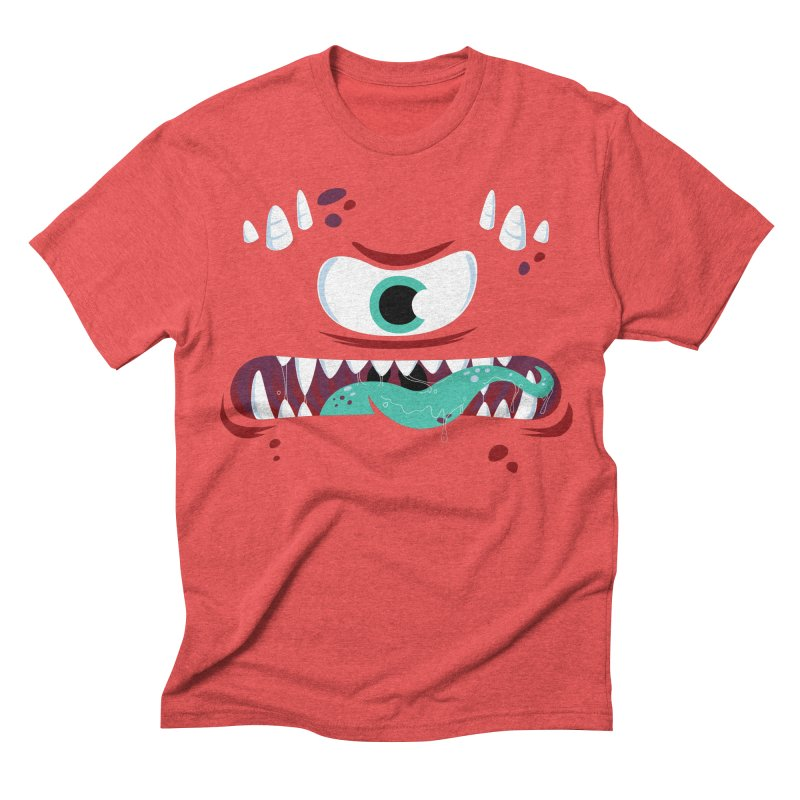 Mad Monster Men's Triblend T-shirt by Apparel by Marco aka ivejustquitsmoking