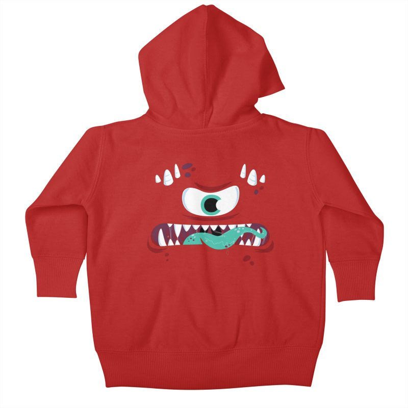 Mad Monster Kids Baby Zip-Up Hoody by Apparel by Marco aka ivejustquitsmoking