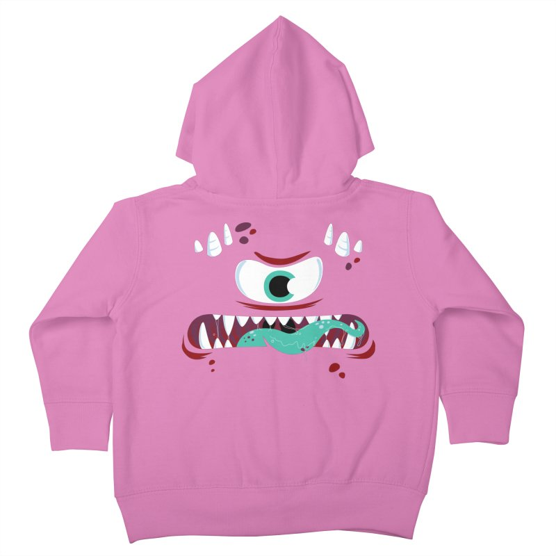 Mad Monster Kids Toddler Zip-Up Hoody by Apparel by Marco aka ivejustquitsmoking