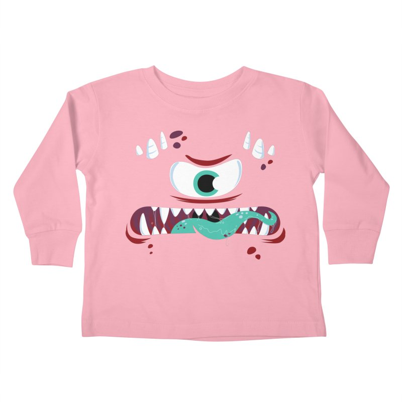 Mad Monster Kids Toddler Longsleeve T-Shirt by Apparel by Marco aka ivejustquitsmoking