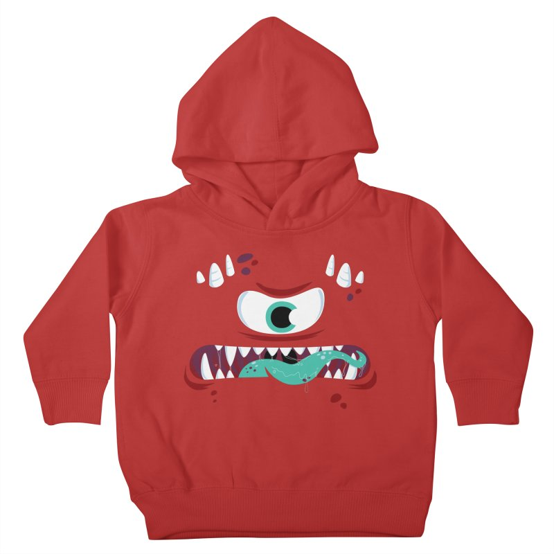 Mad Monster Kids Toddler Pullover Hoody by Apparel by Marco aka ivejustquitsmoking