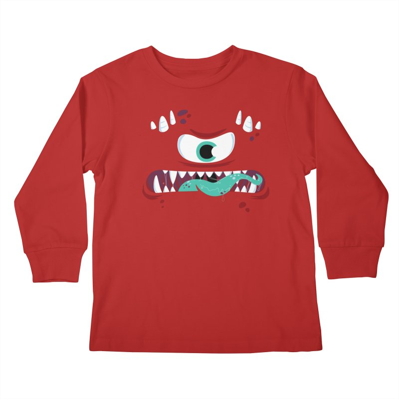 Mad Monster Kids Longsleeve T-Shirt by Apparel by Marco aka ivejustquitsmoking