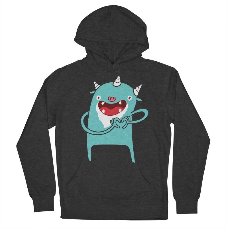 Monster Hearts You Women's Pullover Hoody by Apparel by Marco aka ivejustquitsmoking