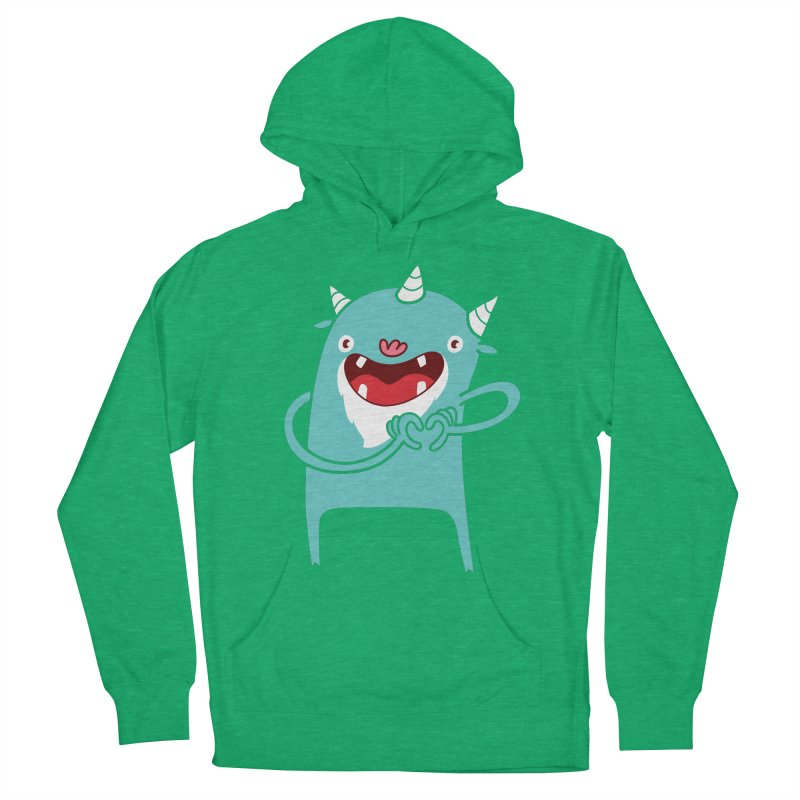 Monster Hearts You Men's Pullover Hoody by Apparel by Marco aka ivejustquitsmoking