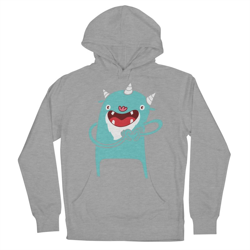 Monster Hearts You Men's French Terry Pullover Hoody by Apparel by Marco aka ivejustquitsmoking