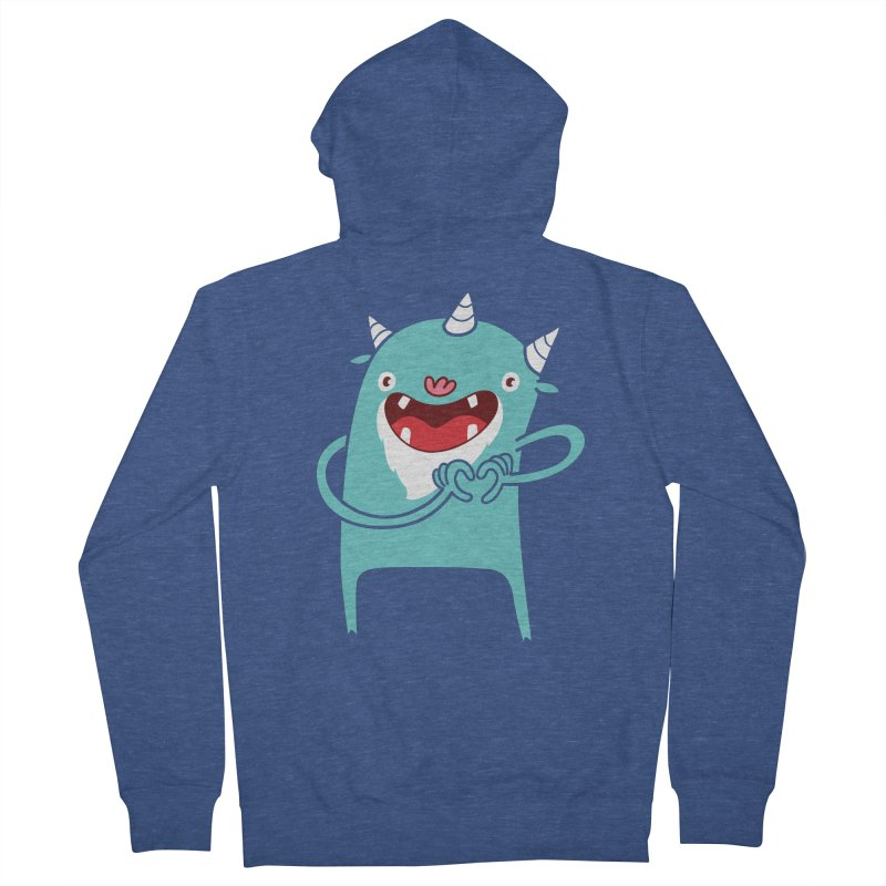 Monster Hearts You Women's Zip-Up Hoody by Apparel by Marco aka ivejustquitsmoking