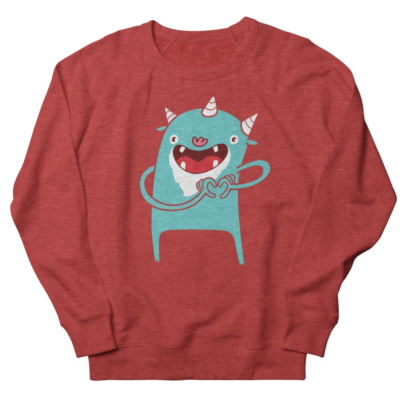Monster Hearts You Men's Sweatshirt by Apparel by Marco aka ivejustquitsmoking