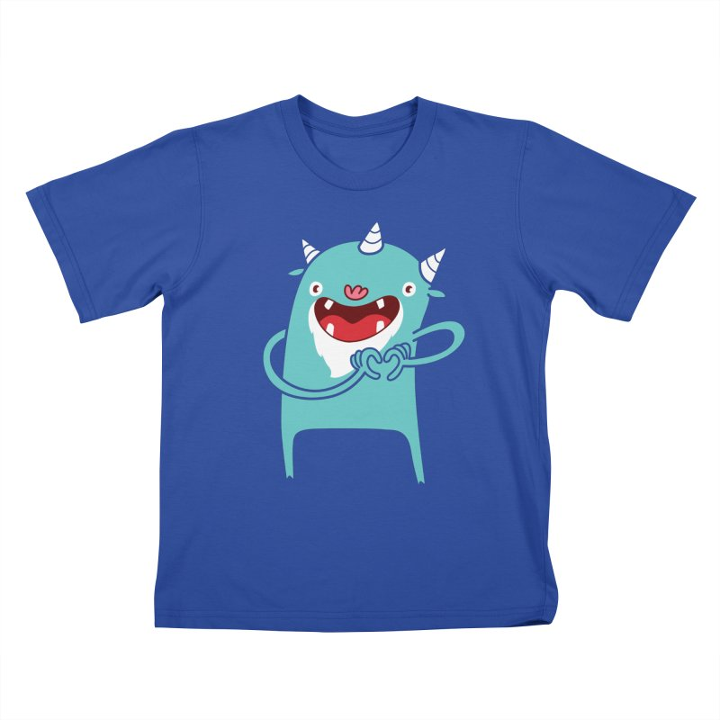 Monster Hearts You Kids T-shirt by Apparel by Marco aka ivejustquitsmoking
