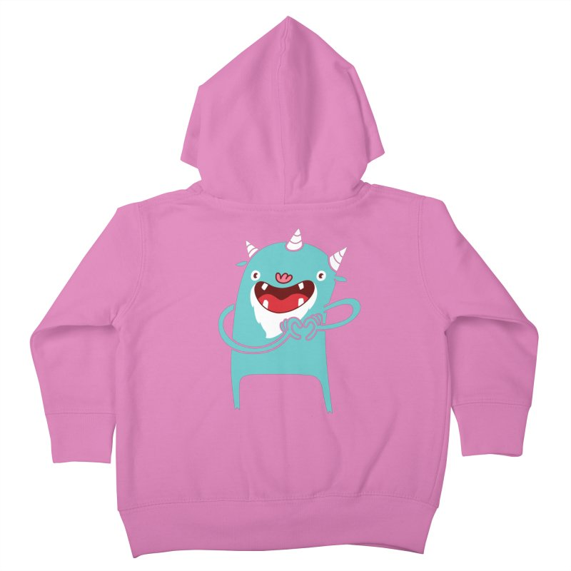 Monster Hearts You Kids Toddler Zip-Up Hoody by Apparel by Marco aka ivejustquitsmoking