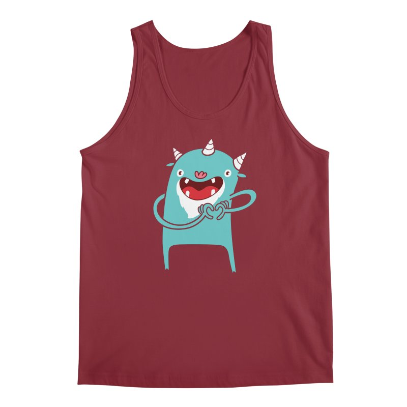 Monster Hearts You Men's Tank by Apparel by Marco aka ivejustquitsmoking