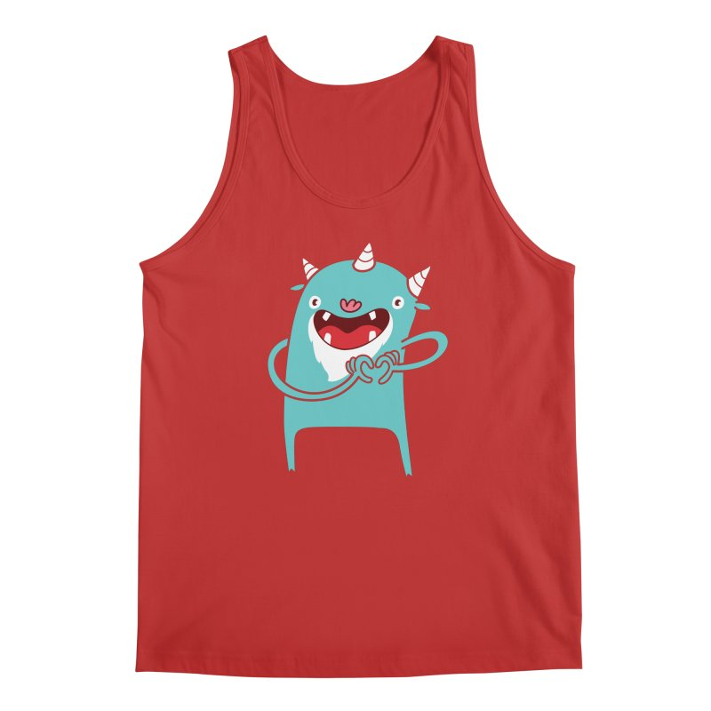 Monster Hearts You Men's Regular Tank by Apparel by Marco aka ivejustquitsmoking