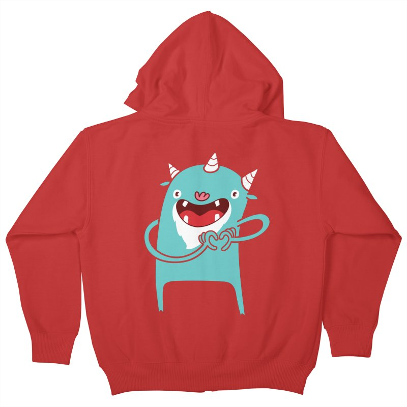 Monster Hearts You Kids Zip-Up Hoody by Apparel by Marco aka ivejustquitsmoking