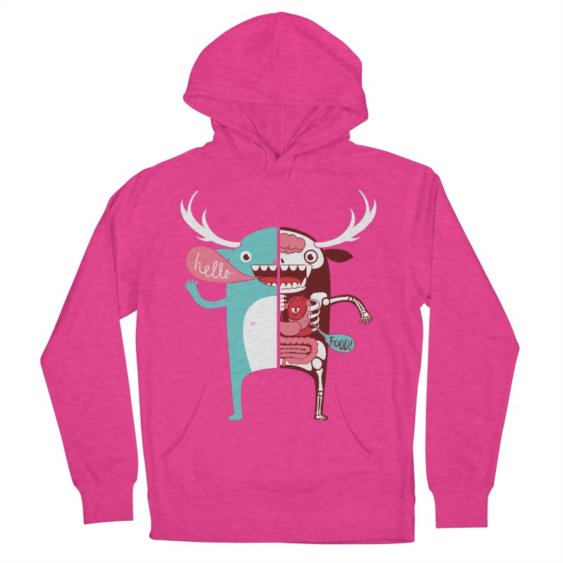 All monsters are the same! Women's French Terry Pullover Hoody by Apparel by Marco aka ivejustquitsmoking