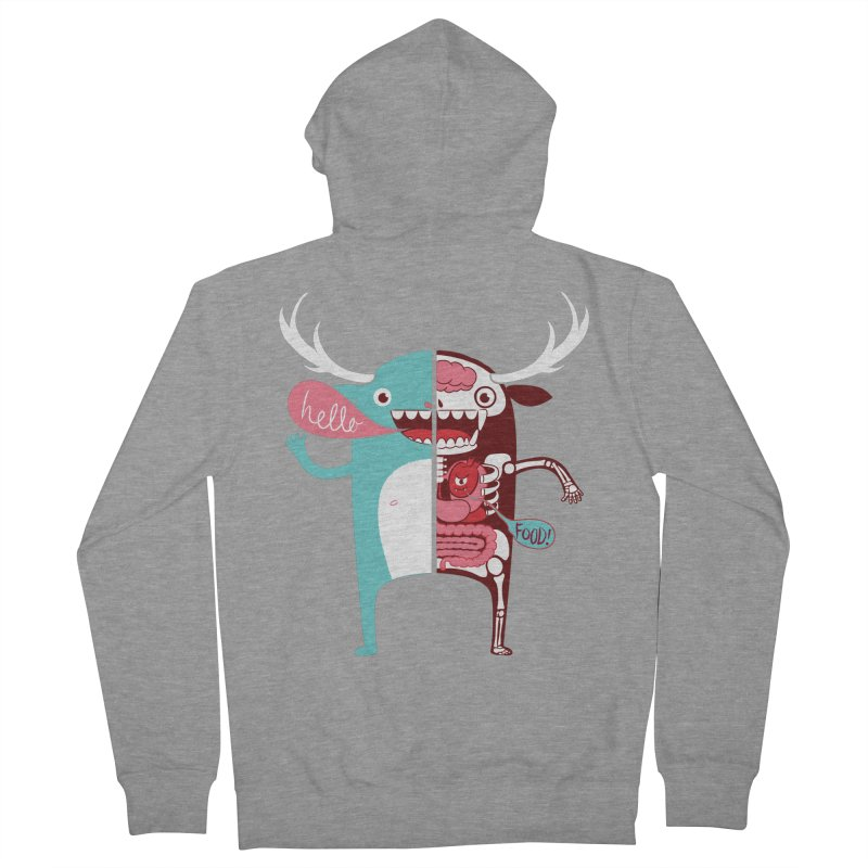All monsters are the same! Women's French Terry Zip-Up Hoody by Apparel by Marco aka ivejustquitsmoking