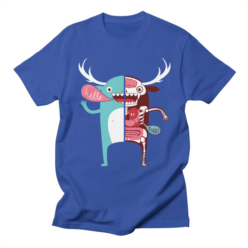 All monsters are the same! Men's Regular T-Shirt by Apparel by Marco aka ivejustquitsmoking