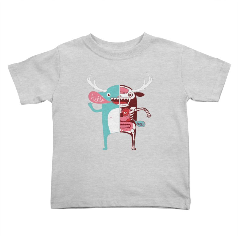 All monsters are the same! Kids Toddler T-Shirt by Apparel by Marco aka ivejustquitsmoking