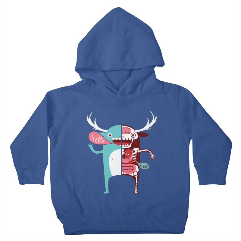 All monsters are the same! Kids Toddler Pullover Hoody by Apparel by Marco aka ivejustquitsmoking