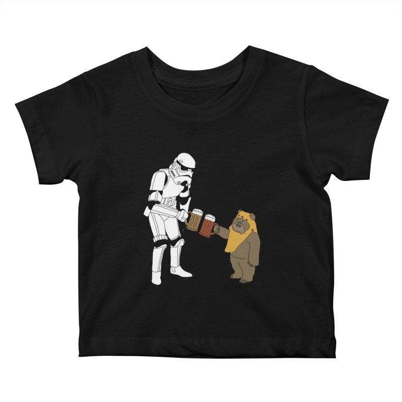 Cheers! Kids Baby T-Shirt by MarcPaperScissor's Artist Shop