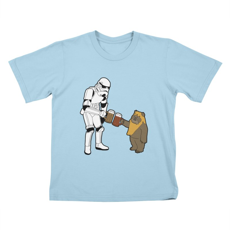 Cheers! Kids T-shirt by MarcPaperScissor's Artist Shop