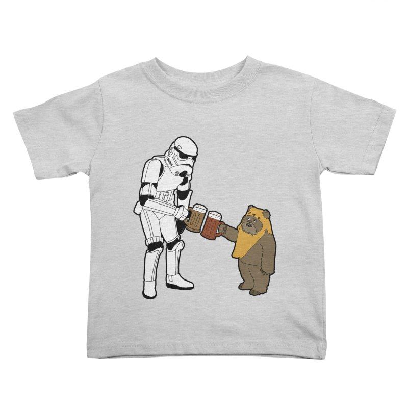 Cheers! Kids Toddler T-Shirt by MarcPaperScissor's Artist Shop