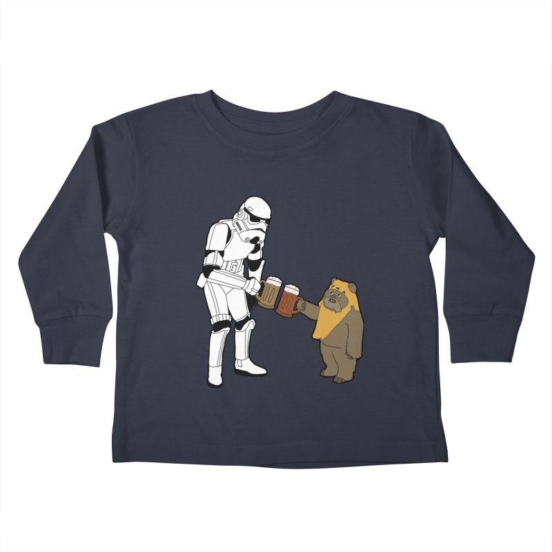 Cheers! Kids Toddler Longsleeve T-Shirt by MarcPaperScissor's Artist Shop
