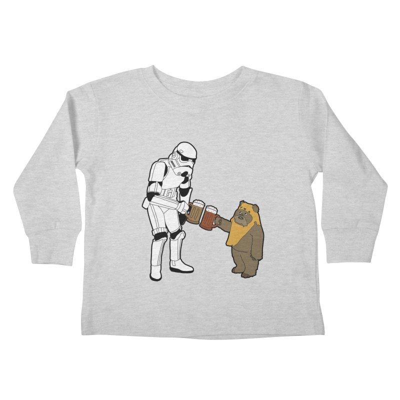 Cheers! Kids Toddler Longsleeve T-Shirt by MarcPaperScissor's Artist Shop