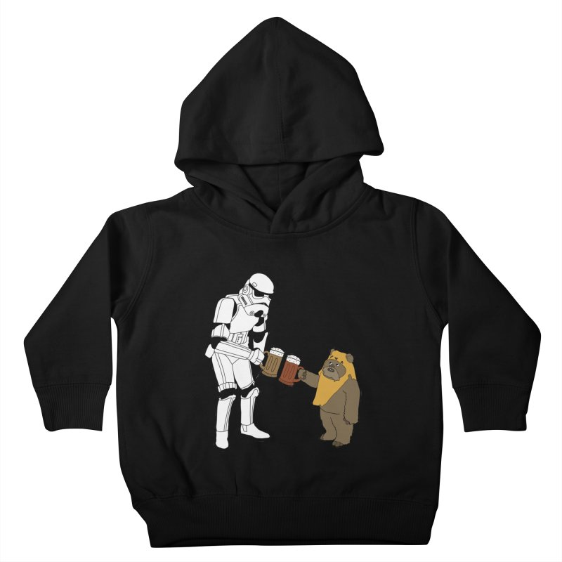 Cheers! Kids Toddler Pullover Hoody by MarcPaperScissor's Artist Shop
