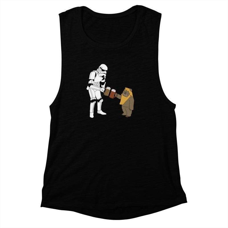 Cheers! Women's Muscle Tank by MarcPaperScissor's Artist Shop