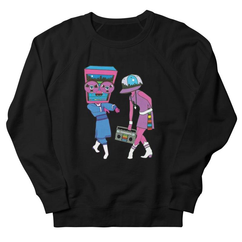 Around The Track Men's Sweatshirt by MarcPaperScissor's Artist Shop