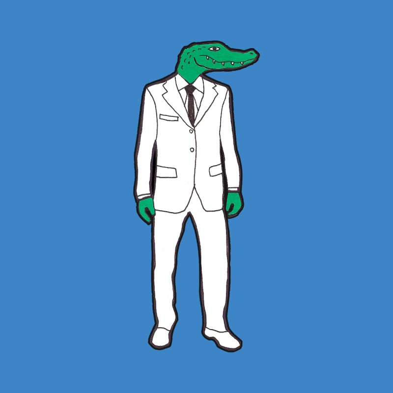 Gator None  by MarcPaperScissor's Artist Shop