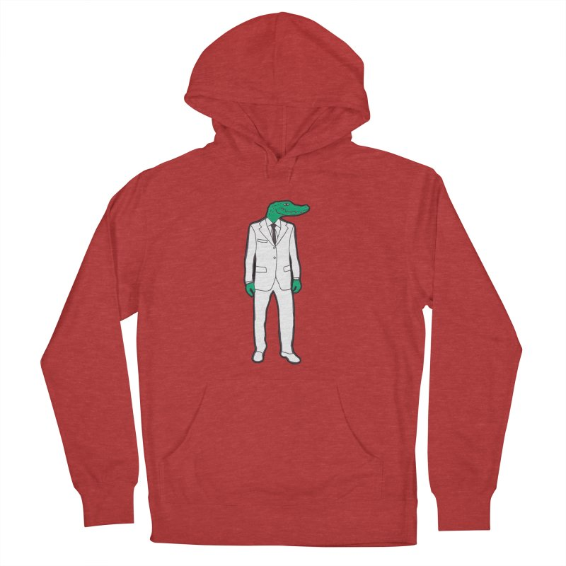 Gator Men's Pullover Hoody by MarcPaperScissor's Artist Shop