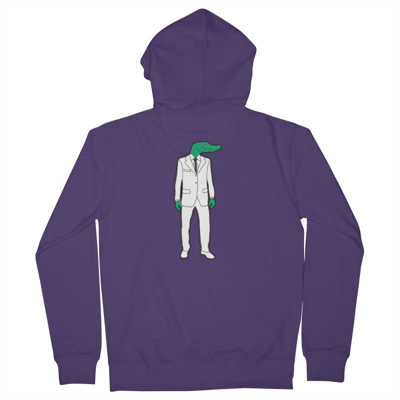 Gator Women's Zip-Up Hoody by MarcPaperScissor's Artist Shop