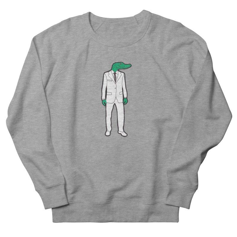 Gator Women's French Terry Sweatshirt by MarcPaperScissor's Artist Shop