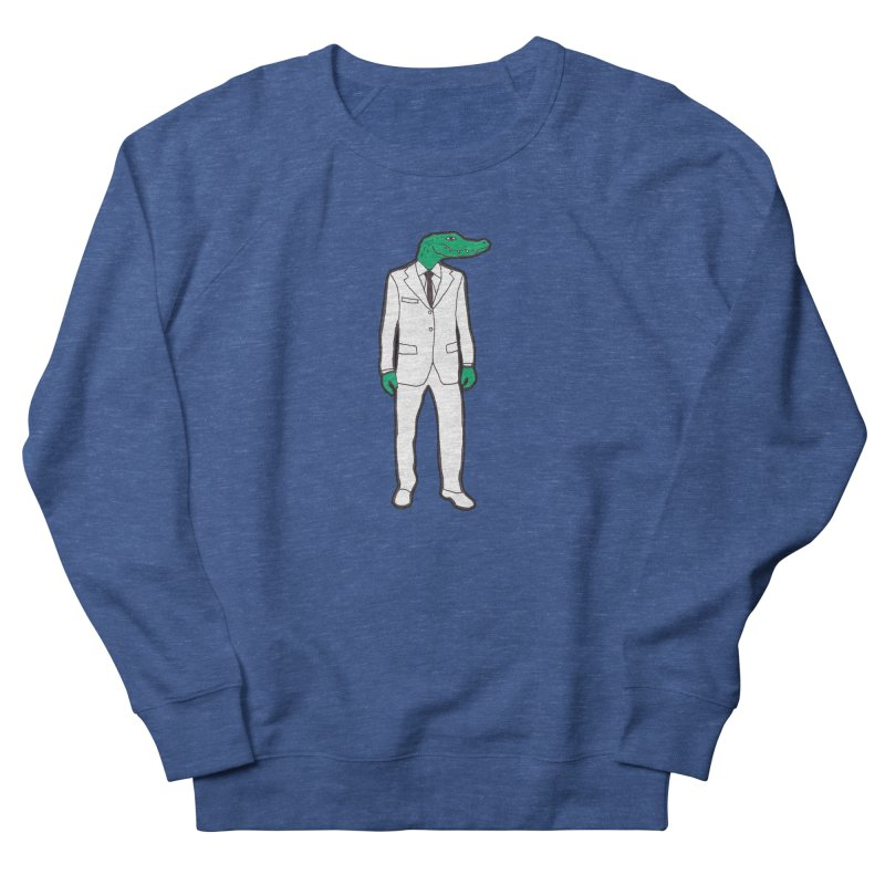Gator Men's Sweatshirt by MarcPaperScissor's Artist Shop