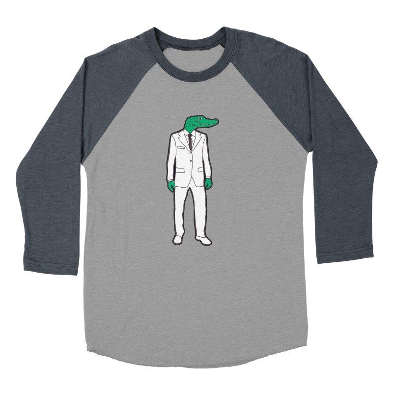 Gator Women's Baseball Triblend T-Shirt by MarcPaperScissor's Artist Shop
