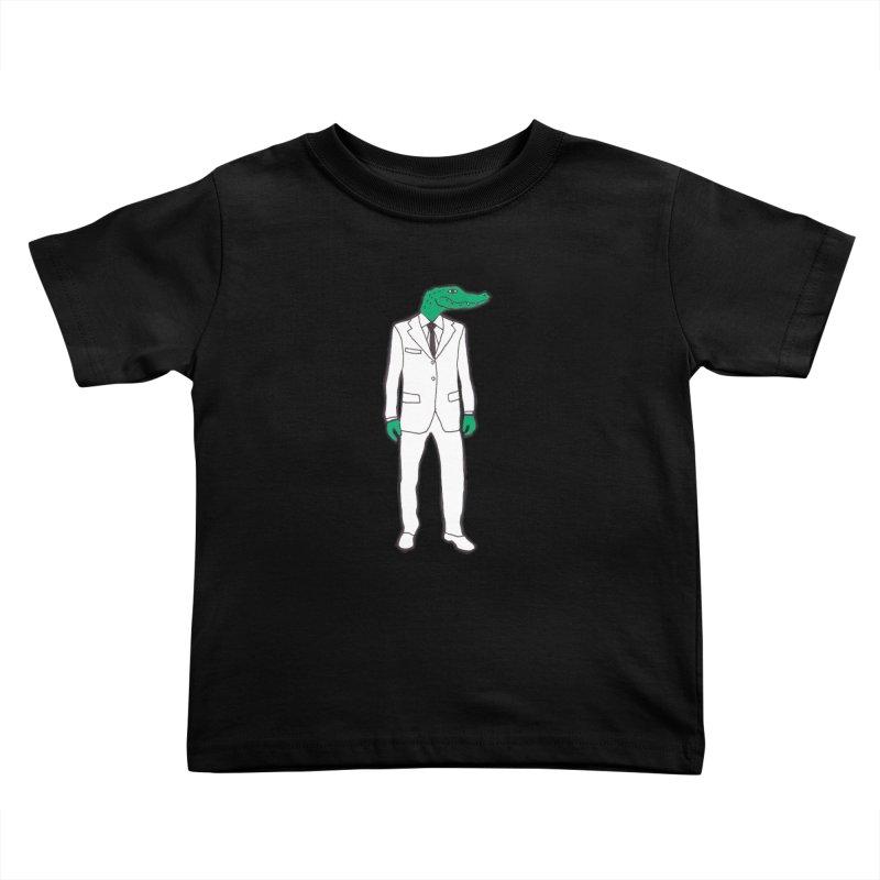 Gator Kids Toddler T-Shirt by MarcPaperScissor's Artist Shop