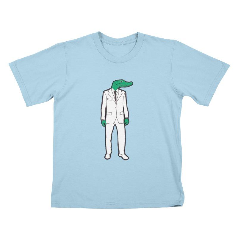 Gator Kids T-shirt by MarcPaperScissor's Artist Shop