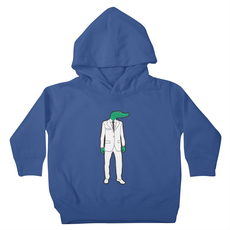 Gator Kids Toddler Pullover Hoody by MarcPaperScissor's Artist Shop