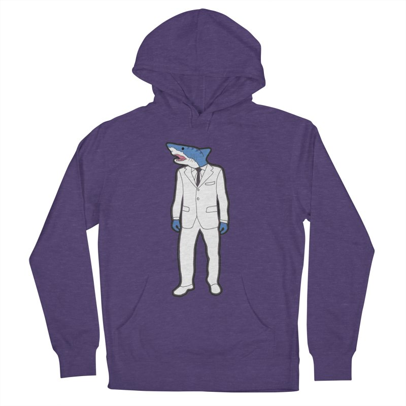 Shark Women's Pullover Hoody by MarcPaperScissor's Artist Shop