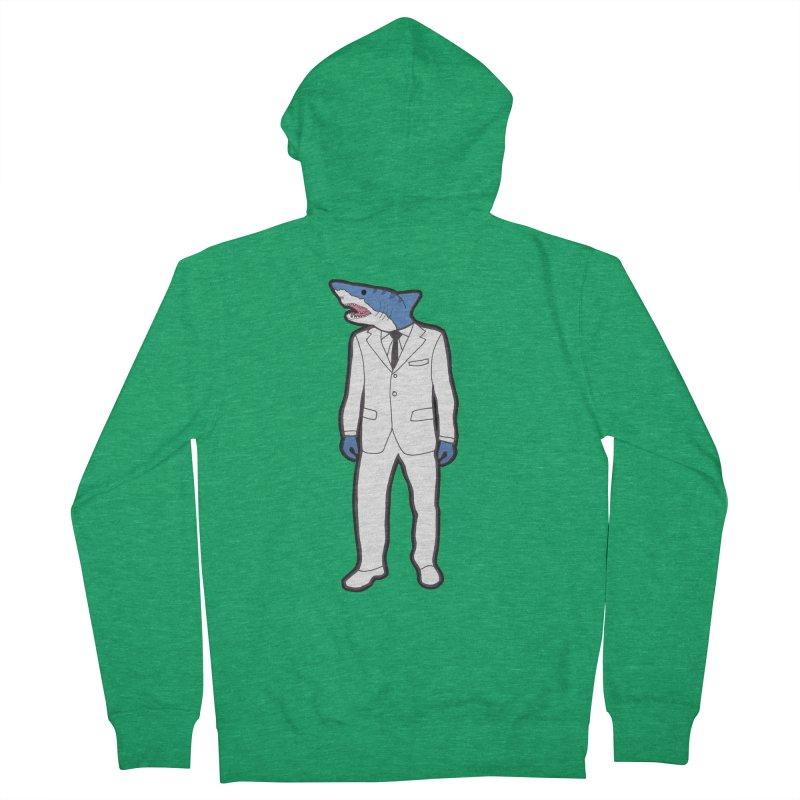 Shark Women's Zip-Up Hoody by MarcPaperScissor's Artist Shop