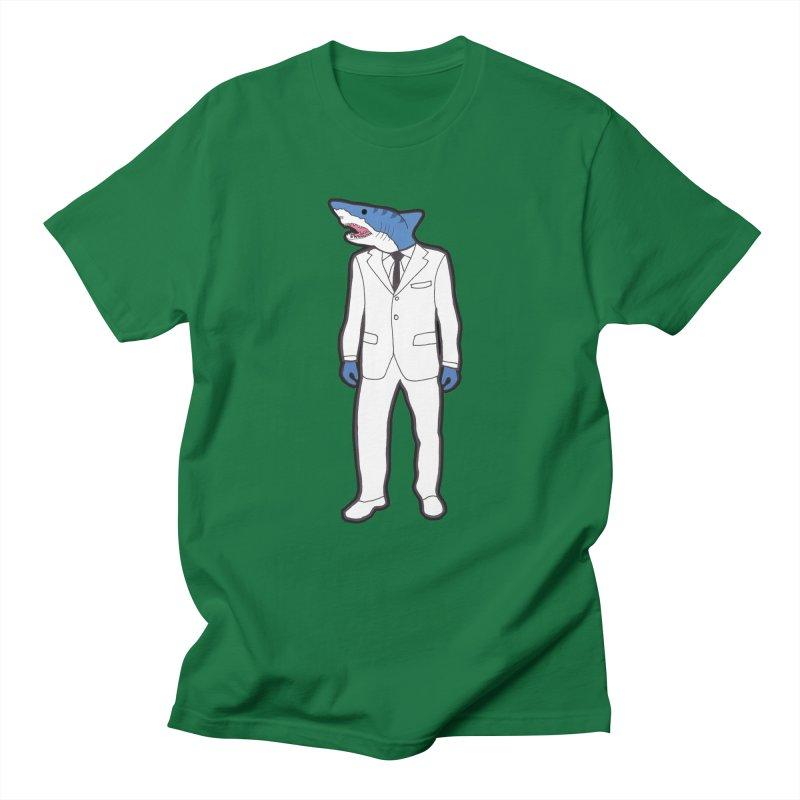 Shark Men's T-Shirt by MarcPaperScissor's Artist Shop